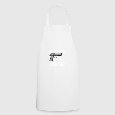 Partner of Crime Partners in Crime Idea - Cooking Apron