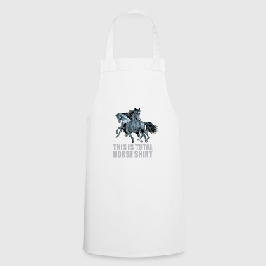 Horses gift idea equitation - Cooking Apron