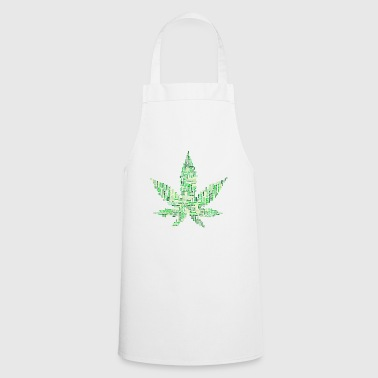 Marijuana 420 grass - Cooking Apron