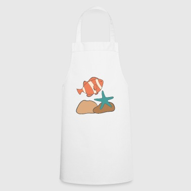 under water - Cooking Apron