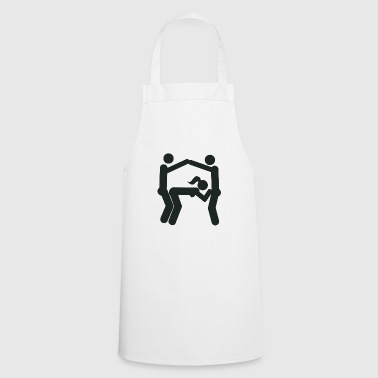 Eiffel Tower sex position (Eifeltower) - Cooking Apron