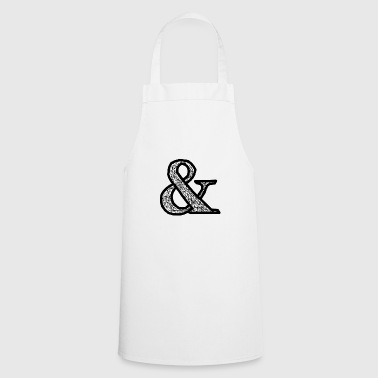 and & sign - Cooking Apron