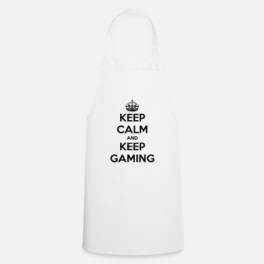 Keep Calm Keep Calm And Keep Gaming - Cooking Apron