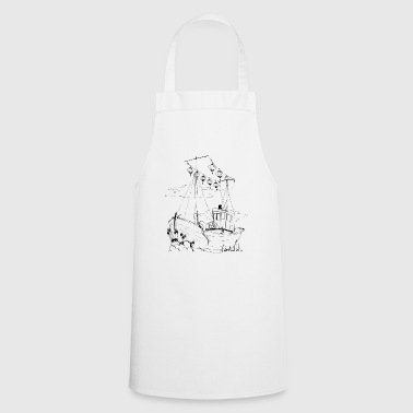 Boat boat - Cooking Apron