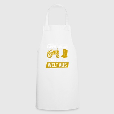 Farmer Shirt · Agriculture · Wellington on - Cooking Apron