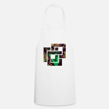 Quadrat Square shape colorful abstract - Cooking Apron