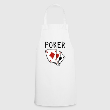 Poker Round - Card - Cards - Poker - Full House - Cooking Apron