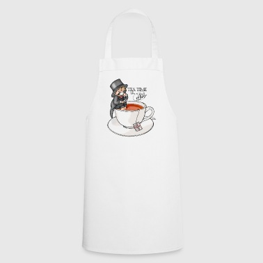 tea time like a Sir with Earl Grey (text) - Cooking Apron