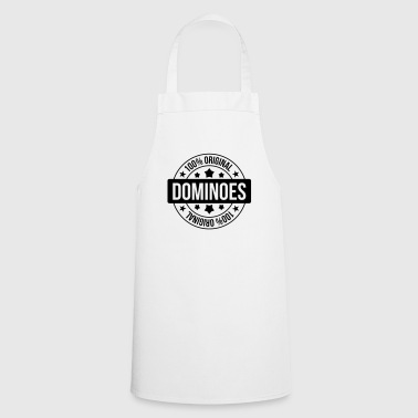 Domino / Dominoes / Game / Gamer / Puzzle - Cooking Apron
