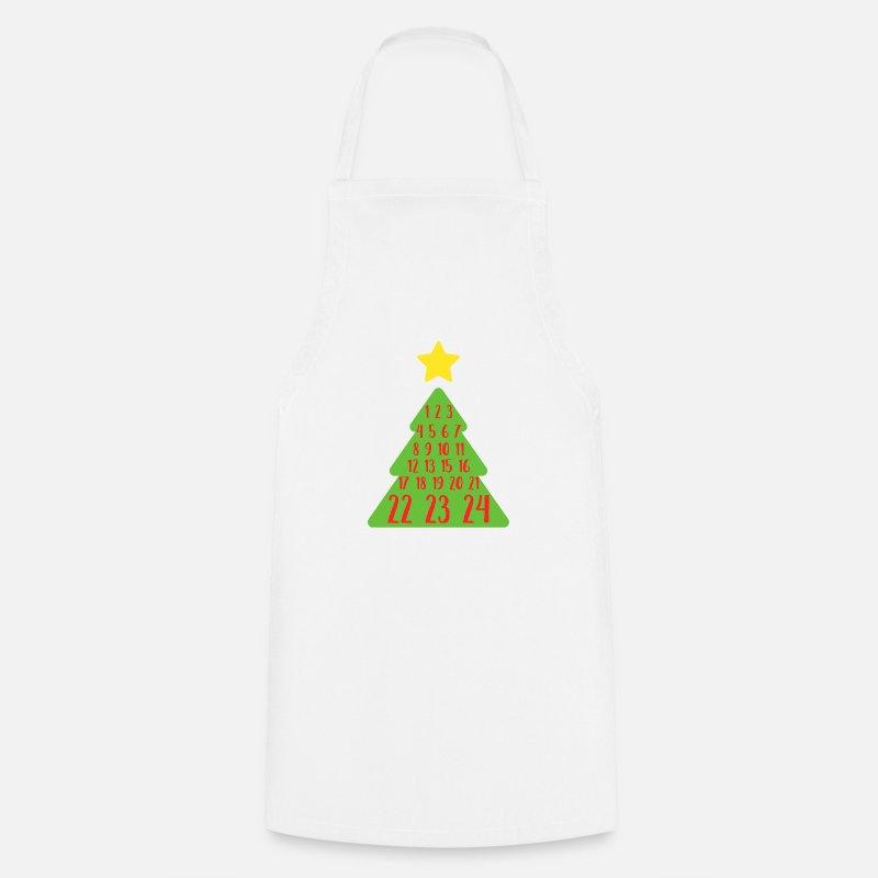 Advent Weihnachtsbaum Zahlen Christian Countdown von Fresh Dressed ...