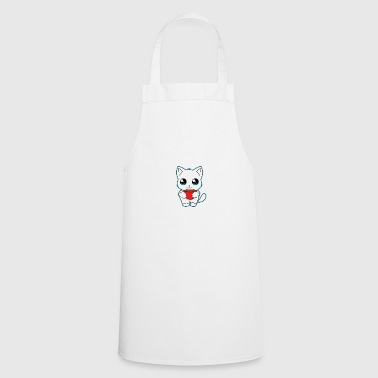 Cats - Coffee - Swearing - Gift - Cooking Apron