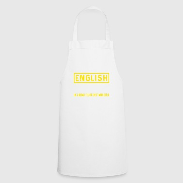 English Teacher - English teacher - Cooking Apron