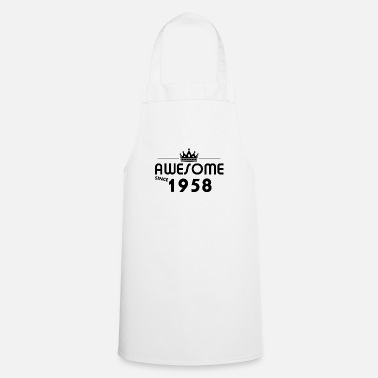 Years 1958, the gift for 60 year olds - Cooking Apron