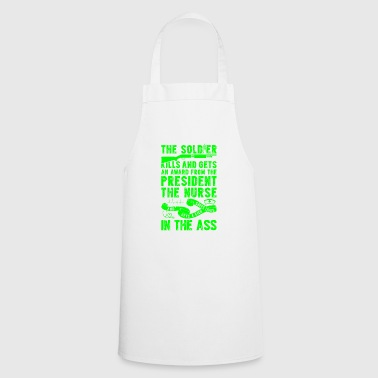 Soldiers are awarded - Nurses - Cooking Apron