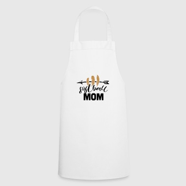 softball Mom - Tablier de cuisine