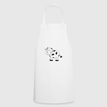 Cow, cows, cow, Cow funny farmer - Cooking Apron