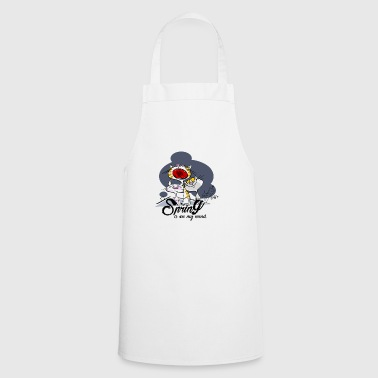 Yelling cat: Spring in the head - Cooking Apron