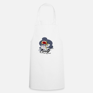 Yell Yelling cat: Spring in the head - Cooking Apron