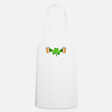 Lets-get-weird Lets Get Shamrocked St Patrick's Day T-Shirt Men - Cooking Apron