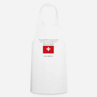 Swiss Swiss German - Cooking Apron