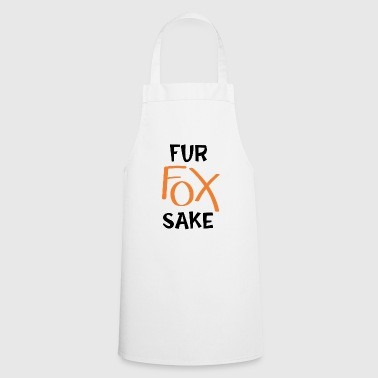 Fur fox will - Cooking Apron