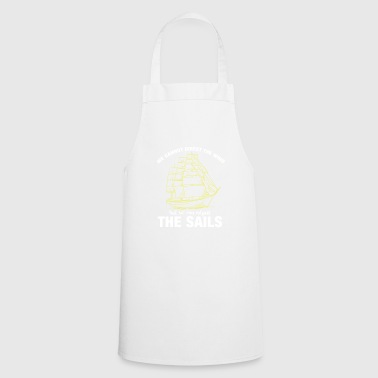 Sailing - sailing - sailing ship - sailboat - Cooking Apron