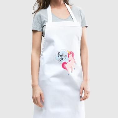 Pretty girl - unicorn - Pretty unicorn - Grembiule da cucina