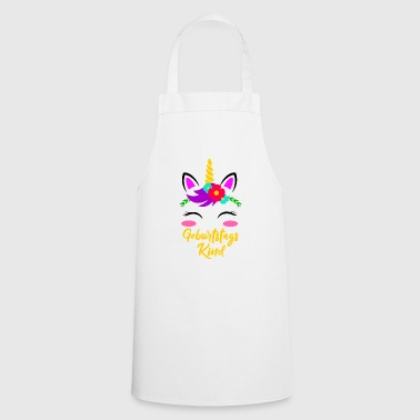 Birthday Girl Unicorn Birthday Gift - Grembiule da cucina