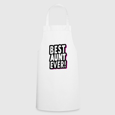 Best Aunt Ever Cool Aunt Aunt Gift - Cooking Apron