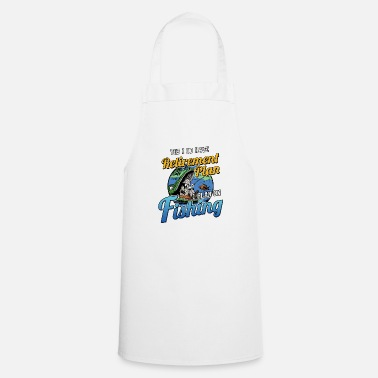 Retirement Retirement Plan Fishing - Cooking Apron