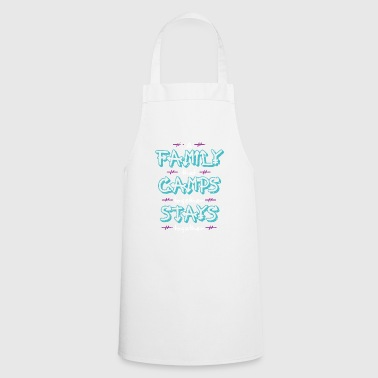 Family that camps together stays together - Cooking Apron