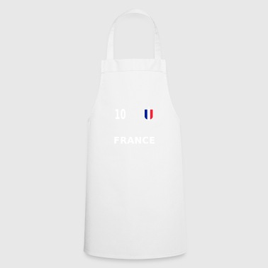 France football jersey number 10 - Cooking Apron