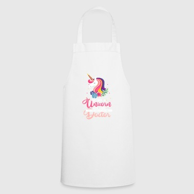 Being a Unicorn was hard - Doctor Gift - Cooking Apron