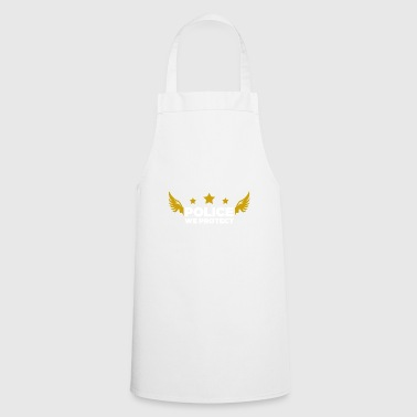 Police gift crest birthday - Cooking Apron