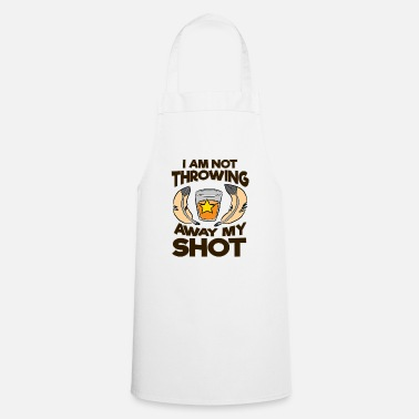 Shot shot - Cooking Apron