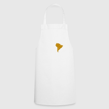 Love continent south america world travel gift - Cooking Apron