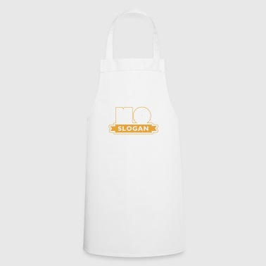 No slogan - Cooking Apron