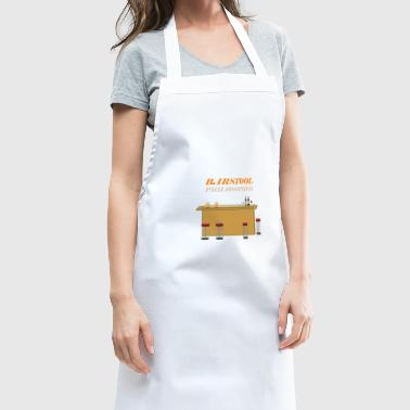 barstool philosopher - Cooking Apron