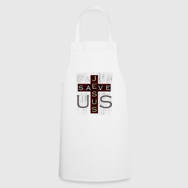 Jesus Christ cross gift - Cooking Apron
