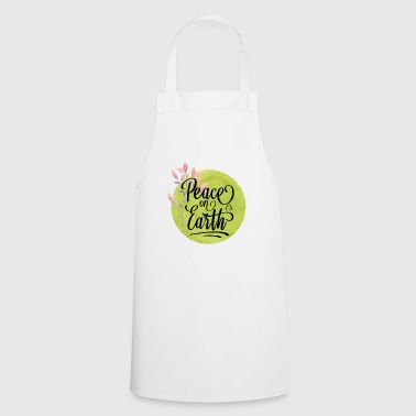 Peace On Earth - Cooking Apron
