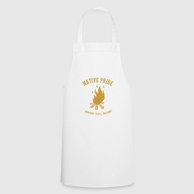 American Indian Campfire Native American Indians - Cooking Apron