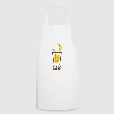 Buck on juice? banana juice - Cooking Apron