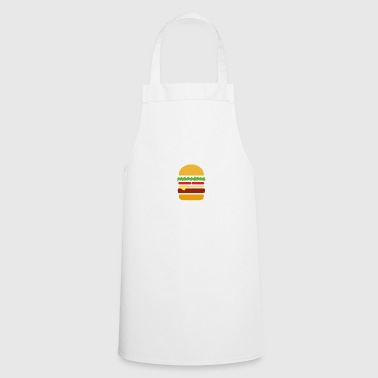 Anatomy of a cheeseburger. - Cooking Apron