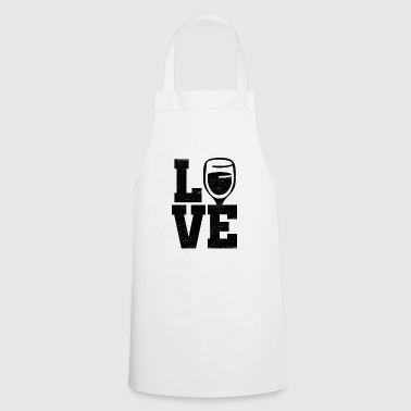 Love Wine - Cooking Apron