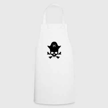 Skull pirate captain - Cooking Apron