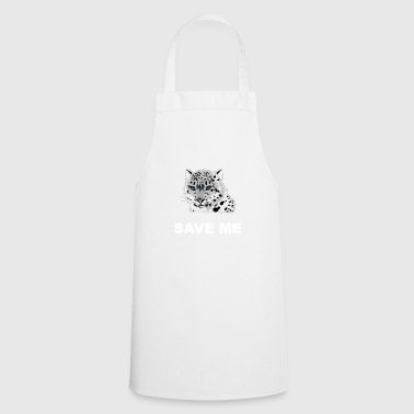 Animal welfare snow leopard - Cooking Apron