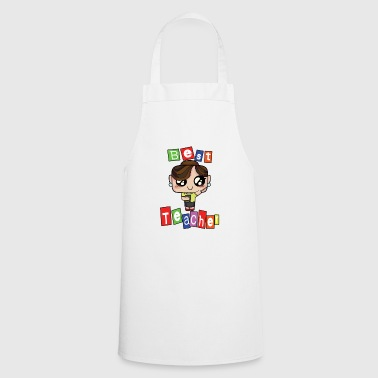 Teaching Teacher Teach School Kindergarten teaching tshirt love school teach 1 - Cooking Apron