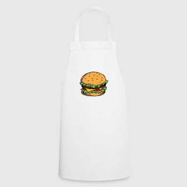 Burger Hamburger Cheeseburger Fast Food Hunger - Tablier de cuisine