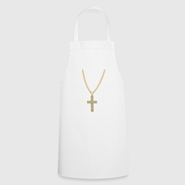 Necklace Jesus Christ Cross Gift - Cooking Apron