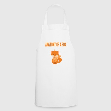 Fox anatomy anatomy of the body foxes - Cooking Apron